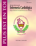 Rev Mex Enferm Cardiol 2013;21(2)25-34